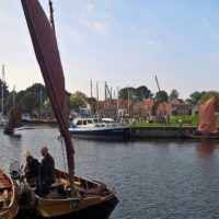 Punterrace 2016. In de haven.